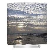 Beach Of Glass Shower Curtain