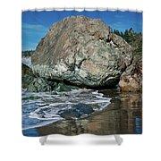 Beach Rock Shower Curtain