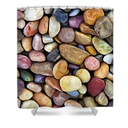 Beach Rocks 1 Shower Curtain