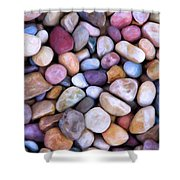 Beach Rocks 2 Shower Curtain
