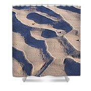 Beach Sand At Sunset Shower Curtain
