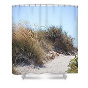 Beach Sand Dunes I Shower Curtain