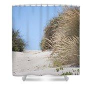 Beach Sand Dunes II Shower Curtain