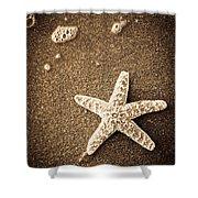 Beach Star Shower Curtain