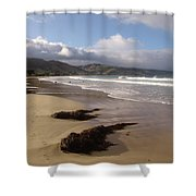Beach Surf Shower Curtain