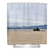 Beach Sweep Shower Curtain