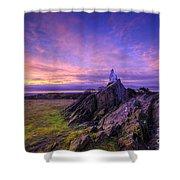 Beacon Hill Sunrise 2.0  Shower Curtain