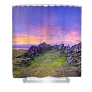 Beacon Hill Sunrise 3.0 Pano Shower Curtain