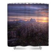 Beacon Hill Sunrise 4.0 Shower Curtain