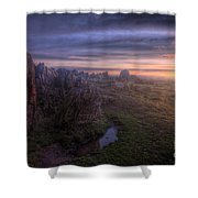 Beacon Hill Sunrise 6.0 Shower Curtain