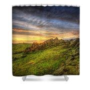 Beacon Hill Sunrise 9.0 Shower Curtain