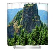 Beacon Rock Shower Curtain