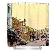 Beale Street Shower Curtain