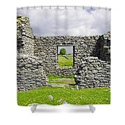Beam Engine House Remains At Magpie Mine - Sheldon Shower Curtain