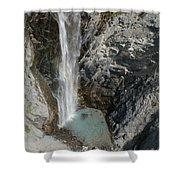 Bear Creek Falls Shower Curtain