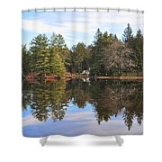 Bear Creek Lake Shower Curtain