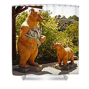 Bears At Taprock Shower Curtain