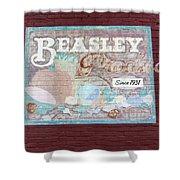 Beasley Produce Since 1931 Shower Curtain