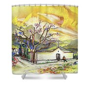 Beautiful Andalusia 01 Shower Curtain