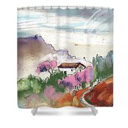 Beautiful Andalusia 03 Shower Curtain