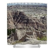 Beautiful Badlands Shower Curtain