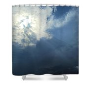 Beautiful Beams Shower Curtain