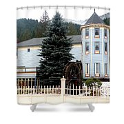 Beautiful Country Inn In Washington Shower Curtain