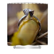 Beautiful Engagement Four Shower Curtain