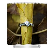 Beautiful Engagement Three Shower Curtain