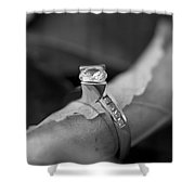 Beautiful Engagement Two Shower Curtain