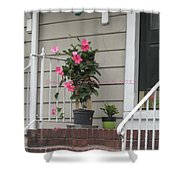 Beautiful Floral Entrance Shower Curtain