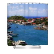 Beautiful Gustavia Shower Curtain
