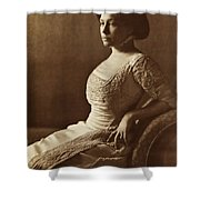 Beautiful Lady In 1880 Shower Curtain