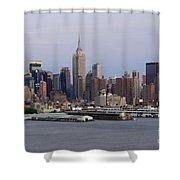 Beautiful Light On New York City Shower Curtain