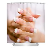 Beautiful Nails Shower Curtain