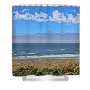 Sunshine Beach Shower Curtain