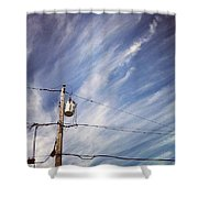 Beautiful Sky This Morning Shower Curtain by Katie Cupcakes