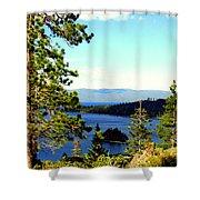 Beautiful Tahoe Shower Curtain