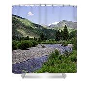 Beautiful Vail - Colorado Shower Curtain