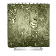 Beauty Cast In Stone Shower Curtain