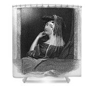 Beauty In Gondola, 1842 Shower Curtain