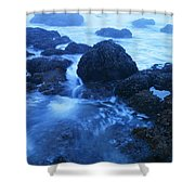 Beauty In The Ebb And Flow Shower Curtain