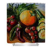 Beauty Of Good Eats Shower Curtain