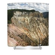 Beauty Of The Grand Canyon In Yellowstone Shower Curtain