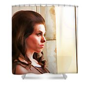 Beauty Two Shower Curtain