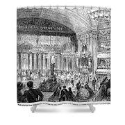 Beaux Arts Ball, 1861 Shower Curtain