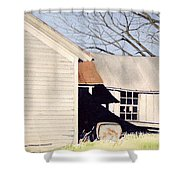 Beck's Knob Memory Shower Curtain