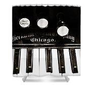 Beckwith Organ 2 Shower Curtain