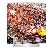 Bed Of Sequins Shower Curtain