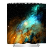 Beducas Nebula Shower Curtain
